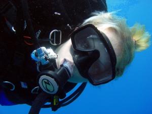 Bahamas Shark Dive Instructor Jillian Morris